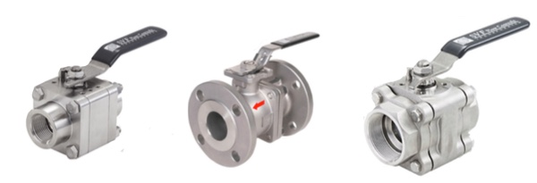 SVF Flow Controls Ball Valves